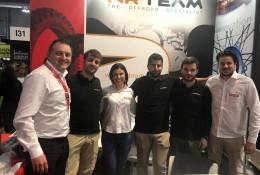André Fiorese, Mattia, Luciane Passaia, Luca, Enrico e Renan Vicari